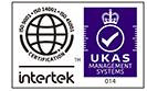 ISO9001:2015 認証取得 ISO12001:2015 認証取得 認証範囲:『管工事及び土木構造物の施工』